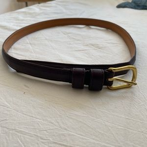 Vintage Leather Coach Belt